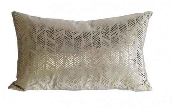 Gold & Tan Accent Pillow main image