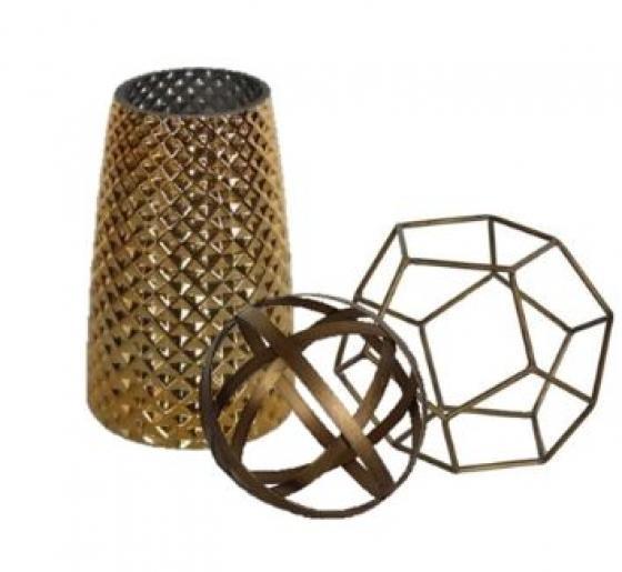 Gold Vase & Sculptures  Set main image
