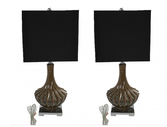Olive & Black Lamps main image