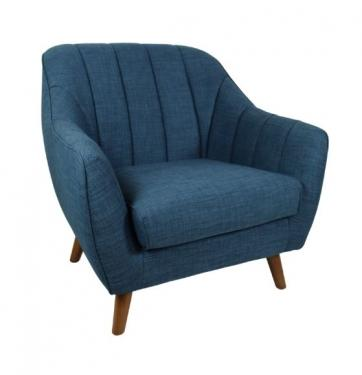 Teal Blue Accent Chair main image