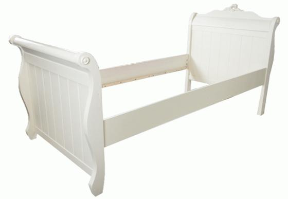 Ivory Twin Bed  main image