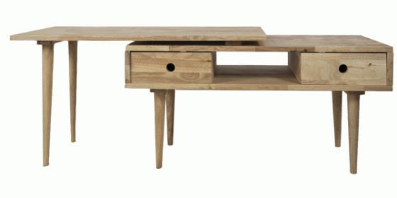 Mid Century Modern 2-piece Coffee Table main image
