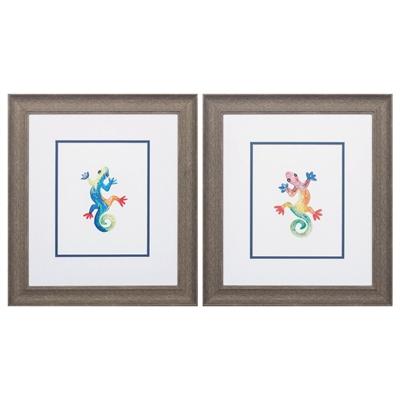 Watercolor Gecko Art main image