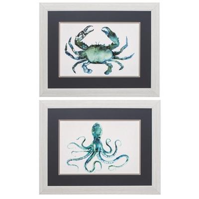 Crab Octopus Art main image