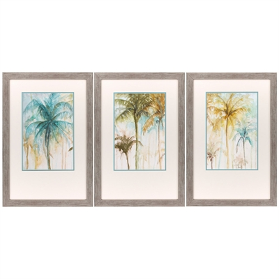 Watercolor Palms Art main image