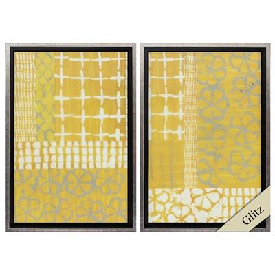 Golden Blockprint Art main image