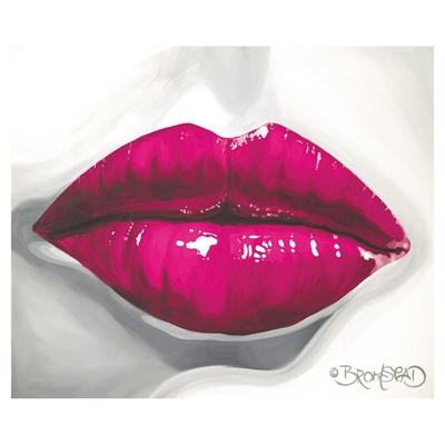 Pucker Up Pink Art main image