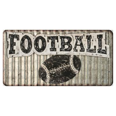 Metal Football Art main image