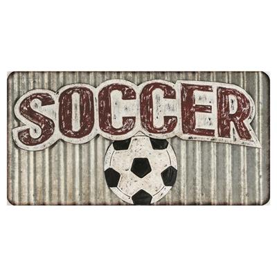 Metal Soccer Art