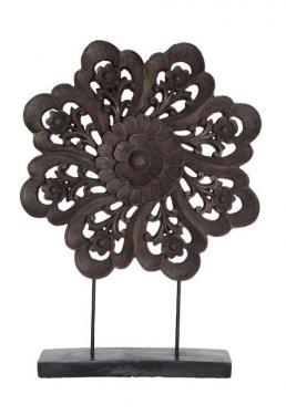 Wood Flower Sculpture main image