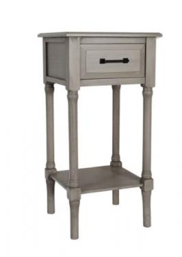Washed Grey Side Table main image