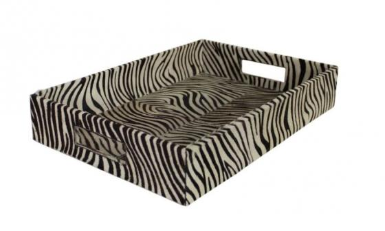 Zebra Fur Tray main image