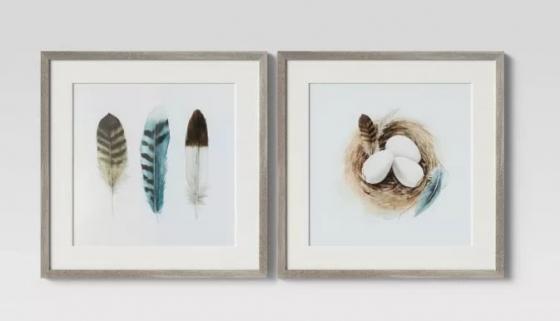 Egg nest & Feather Art main image