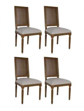 Congac Wovenback Dining Chair Set main image