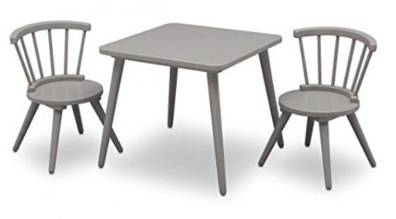 3pc. Wood Childrens Table & Chairs  main image