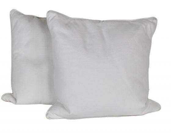 White Textured Pillows main image