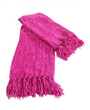 Woven Fuchsia Throw main image