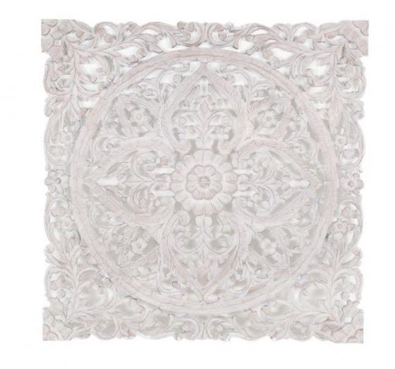 White Wood Mandala main image