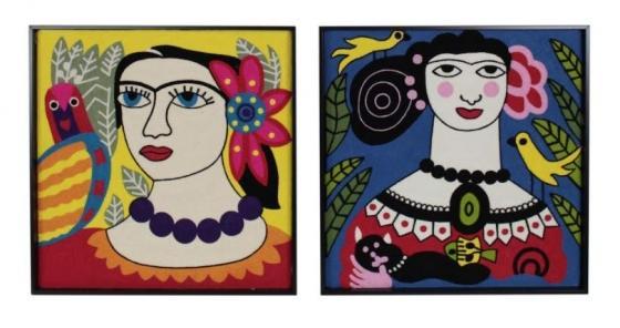 Frida Knit Art main image
