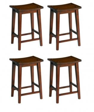 Brown Counter Height Stools main image