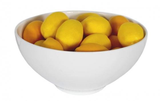 White Bowl W /Lemons main image
