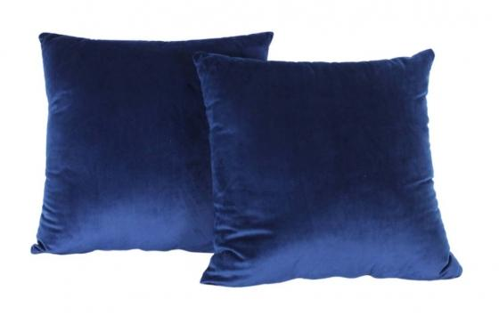Navy Velvet Pillows main image