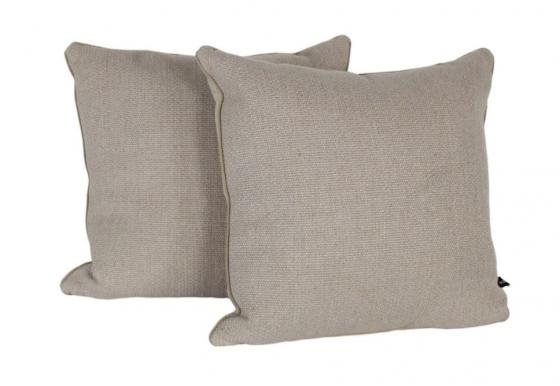 Taupe Textured Woven Pillows main image