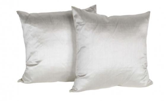 Cream Silk Down Pillows