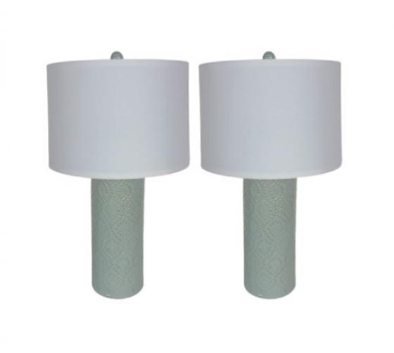 Seafoam Green lamps main image