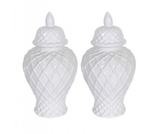 Small White Urns main image
