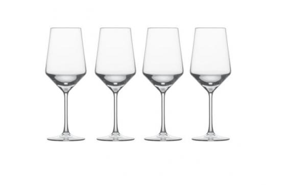 Square Base Wine Glasses main image