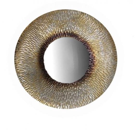 Gold Circle Mirror main image
