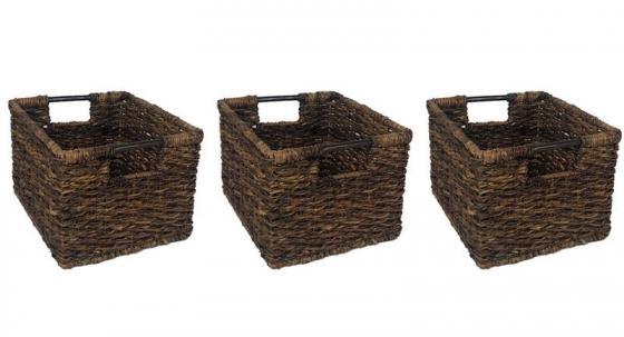 3 Wicker Baskets main image