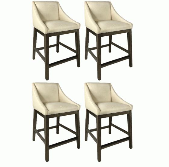 4 Cream  Barstools main image
