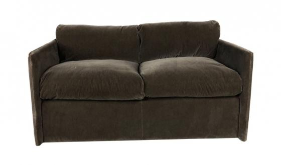 Brown Loveseat main image