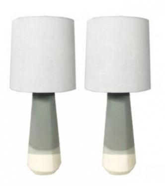 Grey and White Lamps main image