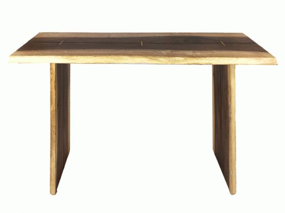 Wood Console Table main image