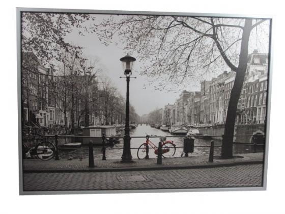 Large-Red Bicycle Art main image