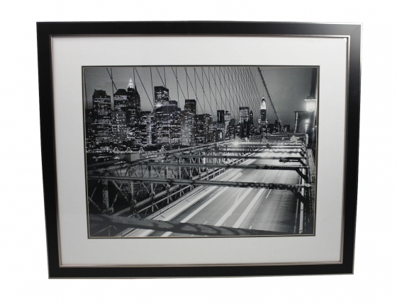 Black & White City Scape main image