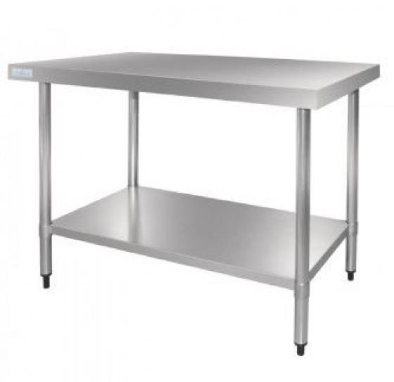 Stainless Steel Accent Kitchen Table main image