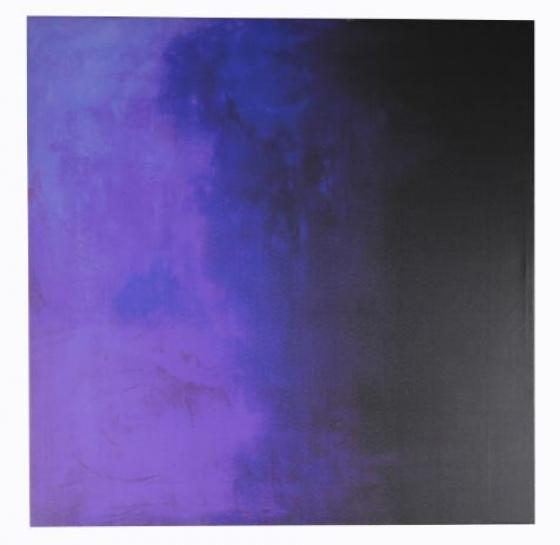 Dark Navy And Purple Canvas Art main image