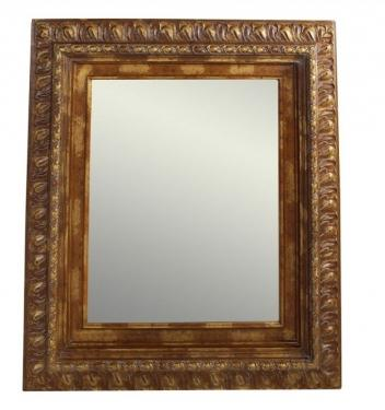 Large Brown Mirror main image