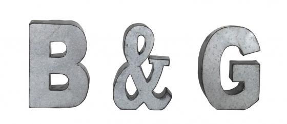 B & G Metal Letters main image
