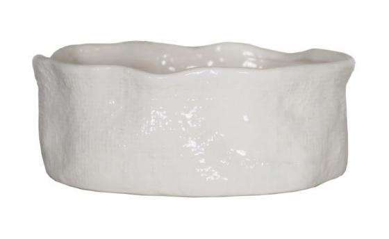 White Ceramic Bowl main image