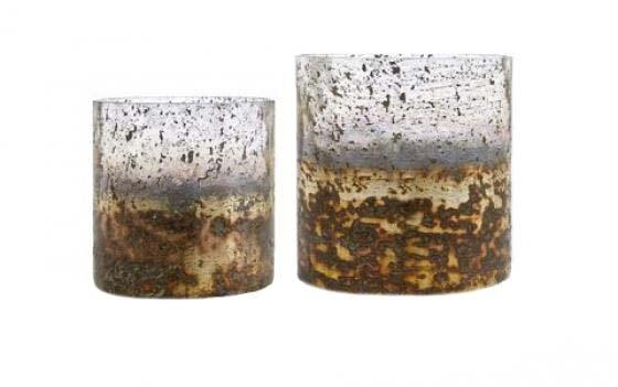Sona Glass Hurricane Candle Holders main image