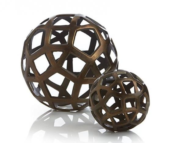 Geo Decorative Metal Ball Set main image