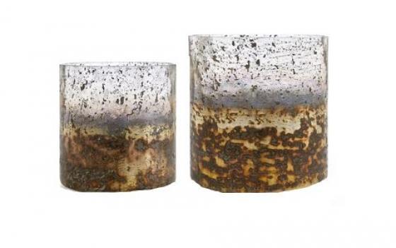 Sona Glass Hurricane Candle Holders main image