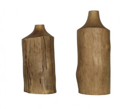 Weathered Wood Vases main image