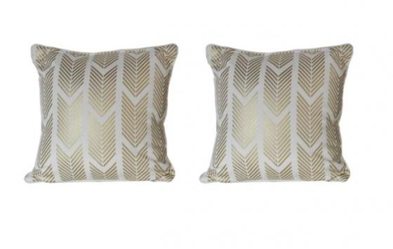 Gold Patterned Pillows main image