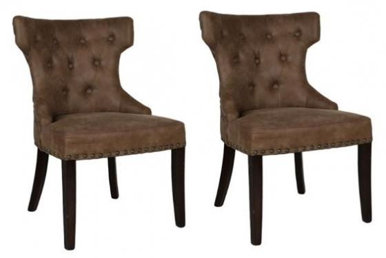 2 Hourglass Dining Chairs main image